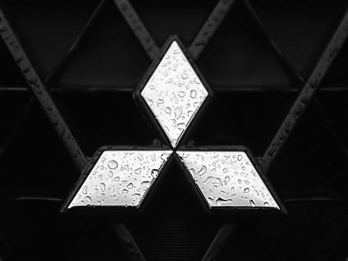 Emblema Mitsubishi