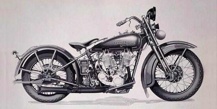 Harley Davidson JH Two-Cam